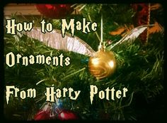 Picture of How To Make Harry Potter Ornaments More
