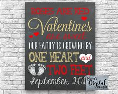 61 Best Valentine S Day Pregnancy Announcements Photo Props Images