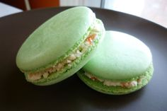 Wasabi Ginger French Macaron by IMaFoodie on Etsy, $10.00