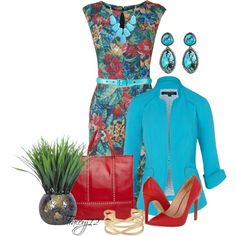 Love These Colors!, created by traceyj12 on Polyvore