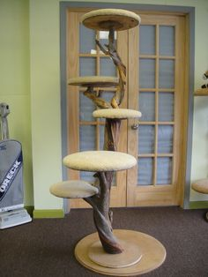 cat tree diy - Google Search- give that cat tree a decorative touch