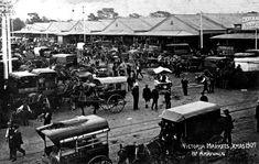 Melb Victoria Markets 1907