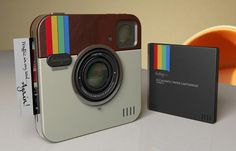 Instagram Socialmatic, a camera that can print your pictures on the spot while giving you 16GB of storage space to store your photos #gadgetfrenzy
