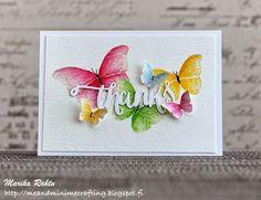 Water coloured butterflies