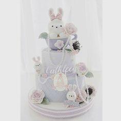 : @cforcupcakes Happy Sunday #inspiration #inspirasjon #babykake #cake #kake #delikat #beautiful #inspo #detlilleekstra #dinbabyshower #babyshower #dåp #navnefest #fødsel #gravid