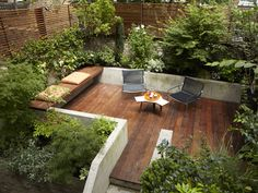 backyard patio in London
