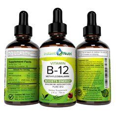 Vitamin B12 | Instant nutri Vitamin B12, Vitamins, Shampoo, Personal Care, Pure Products, Self Care, Personal Hygiene, Vitamin D