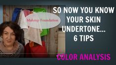 6 Tips for Cool and Warm Skin Undertones | Skin Tone | Color Analysis | ...