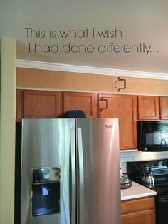 Learn how to easily add height to your kitchen cabinets!