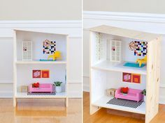 Make your own dollhouse from readily available materials. Cardboards, shoe boxes, shelves, old bookcases… are perfect to built a miniature house. To make the dollhouse even sweeter, you can …