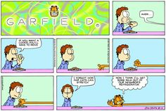 Daily Comic Strip on August 2001 Funny Cats, Funny Animals, Hagar The Horrible, The Odd Ones Out, Garfield Comics, Funny Animal Pictures, Animal Pics, Pokemon, Cat Quotes