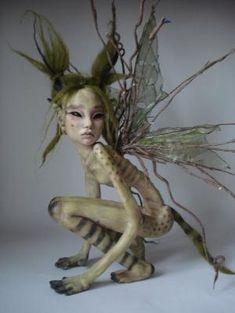 SHADOWSCULPT OOAK IADR realistic mouse fairy house nest art doll one of a kind fantasy sculpture polymer clay figurine Woodland Creatures, Magical Creatures, Forest Creatures, Fantasy Kunst, Fantasy Art, Fantasy Dolls, Fairy Art, Fairy Dolls, Art Plastique