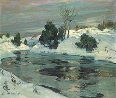 Jonas Lie, Winter Scene
