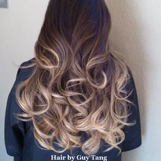 Omg I absolutely love the colors in this girl's Ombre!