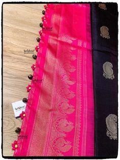 Saree Tassels Designs, Saree Kuchu Designs, Fancy Blouse Designs, Dress Neck Designs, Saree Hairstyles, Saree Draping Styles, Embroidery On Clothes, Trendy Sarees, Saree Blouse Patterns