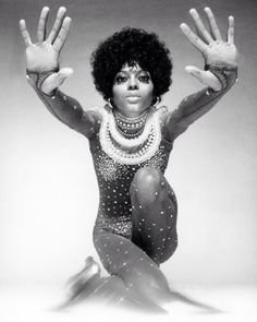 Diana Ross in French Vogue (1970) by Richard Avedon