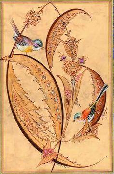 Art Appreciation, Islamic Art, Iranian Art, Flower Art, Indian Art, Historical Art, Art, Art And Architecture, Bird Art