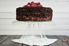 Tort malinowo-czekoladowy | Domi w kuchni Tiramisu, Ethnic Recipes, Food, Essen, Meals, Tiramisu Cake, Yemek, Eten