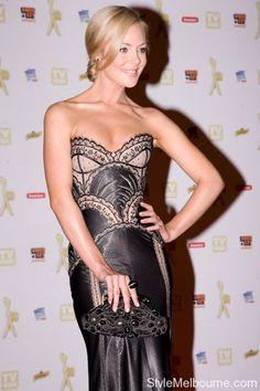 Jessica Marais wearing J'Aton