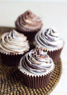 "Cupcakes de café irlandés con chocolate ""para dormir mejor"""