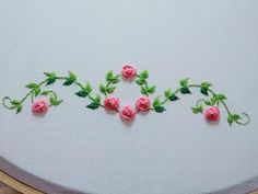Grand Sewing Embroidery Designs At Home Ideas. Beauteous Finished Sewing Embroidery Designs At Home Ideas. Hand Embroidery Videos, Embroidery Stitches Tutorial, Embroidery Flowers Pattern, Simple Embroidery, Learn Embroidery, Silk Ribbon Embroidery, Embroidery For Beginners, Hand Embroidery Designs, Embroidery Ideas