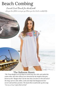 Heading to Galveston?  Check out our beachy looks!