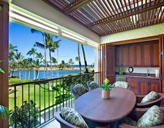 What is the difference between a lanai and a patio?  I ask because I found a customize your new home website. it said you had the option of a porch or an extended porch with a lanai. And all it shows on the blue print is two squares that say porch and lanai.