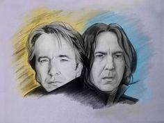 alan rickman Severus Snape by karlyilustraciones on DeviantArt