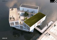 Floating Dorms Could Help Students Rent in City Centers – Next City