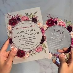 Wedding Invitation Video, Acrylic Wedding Invitations, Quince Invitations, Wedding Stationery, Burgundy Wedding Invitations, Best Wedding Invitations, Marriage Invitation Card, Box Invitations, Reception Invitations
