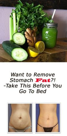 Want to Remove Stomach Fat! -Take This Before You Go To Bed