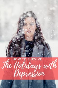 The holidays are meant to be enjoyed. Dont let depression hold you back. Find out how to survive the holidays with depression for your best holiday ever. Battling Depression, Making A Budget, Hurt Feelings, Wilderness Survival, Survival Guide, Wellness Tips, Thing 1 Thing 2, Better Life