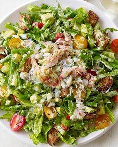 Get Crab and Avocado Salad Recipe from Food Network