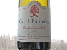 Clos Chanteduc Cotes du Rhone