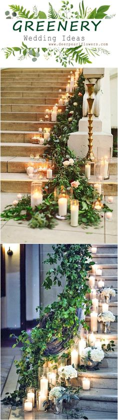 Greenery wedding aisle decor ideas #weddings #greenwedding #weddingaisles #weddingideas #weddingflowers #weddinginspiration #dpf #deerpearlflowers / www.deerpearlflow...