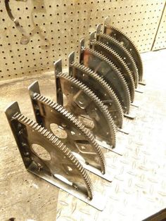 Check out this item in my Etsy shop https://www.etsy.com/listing/258270416/engine-flywheel-gear-shelves-automotive