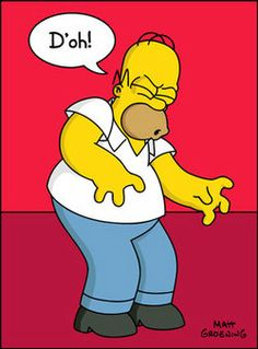 Homer Simpson - D'oh!