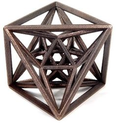 [Image] | 25 Mesmerizing Sacred Geometry Inspired Sculptures By... - TIMEWHEEL