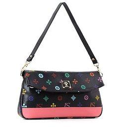 New Women's Colorful Diagram Pattern Shoulder Bag Cross Tote Tassel korean m140
