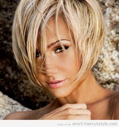 flattering stacked hairstyles for short cut 2014 - Short Stacked ...