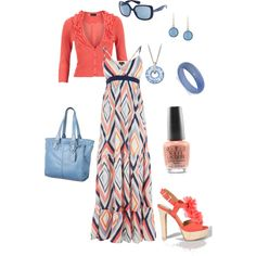 summer dress, created by cami-woods-aley