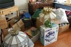 How to Downsize your Home to an RV - Sorting out household items to sell and donate (if we decide to go fulltime).