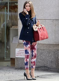 Olivia Palermo: Fresh & Fun Spring Look