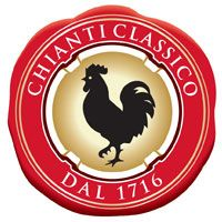 The gallo nero seal of the Consorzio Chianti Classico