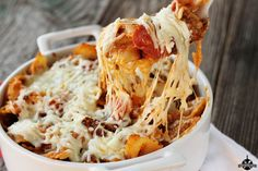 Weeknight Bites: Pizza Casserole - Southern Bite