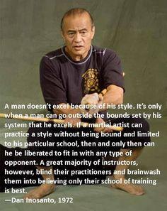 Martial arts masters and their quotes Guro Dan Inosanto