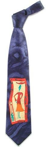 **New arrival** -Woman in Frame Silk Tie -   Forzieri silk ties encompass classic Italian elegance for a refined man. Made in Italy.