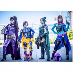Pin for Later: Star Wars and Disney Hybrids Are the Coolest Cosplay Trend in the Galaxy Mandalorian Meg, Snow White, Mulan, and Anna