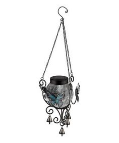 Another great find on #zulily! Solar Butterfly Lantern by Regal Art & Gift #zulilyfinds