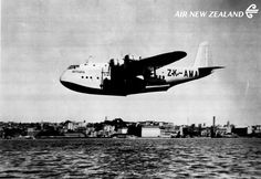 Air New Zealand's first flight (TEAL) ZK-AMA Auckland to Sydney in 1940